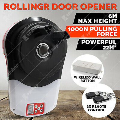 Automatic Roller Door Opener eGarage Powerful 1000N Motor Garage 22m2 Rolling OZ