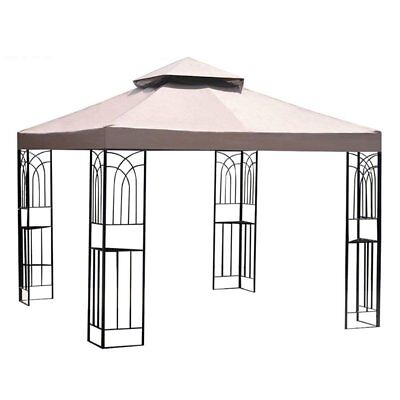 Sunjoy 10 x 10 ft. Replacement Canopy Cover for L-GZ407PST-2- OPP Gazebo