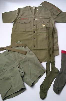 Vintage Boy Scout Uniform Lot - Sanforized