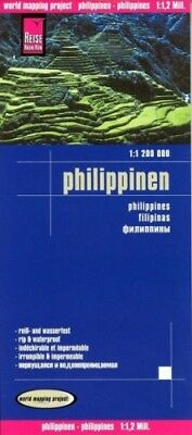 Reise Know-How Landkarte Philippinen (1:1.200.000); Philippines / Filipinas NEU