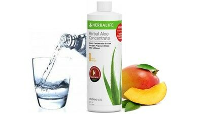 Herbalife Aloe Concentrate Mango and Original Flavors 473 ml + ¡GIFT!