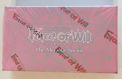 Force of Will The Moonlit Savior Booster Box (36 packs) SEALED BRAND NEW
