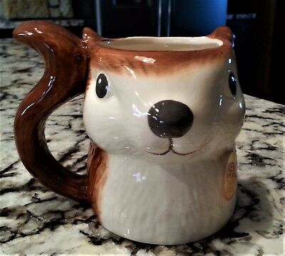 Better Homes & Gardens Squirrel Cup Mug Heritage Collection Ltd Edition 2014 NEW
