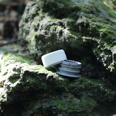 *NEW* Geocache Micro Bottle Top Container Geocaching  +3 Free Cache Log Sheets!