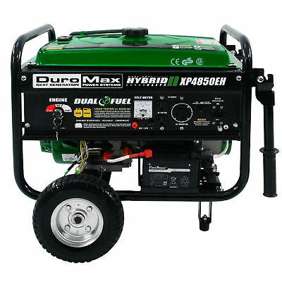 DuroMax XP4850EH Hybrid Portable Dual Fuel Propane+Gas Generator  Boston pickup