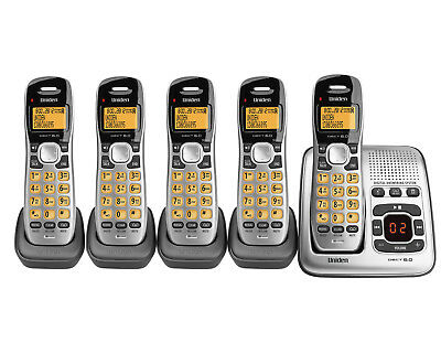 UNIDEN DECT 1735+4 CORDLESS DIGITAL PHONE SYSTEM with POWER FAILURE BACK UP