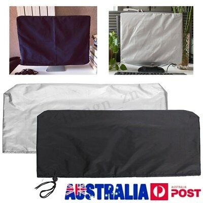 19-24 Inch Computer Flat Screen Monitor Dust Cover PC Laptop Protectors 2 Color