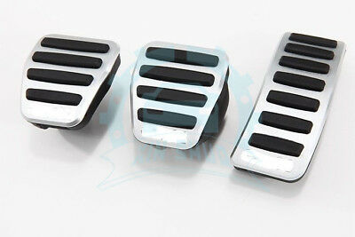 Non-Slip For Audi A4 A5 A6 A7 A8 Q5 Q7 Auto Brake Clutch Gas Pedal Cover Set