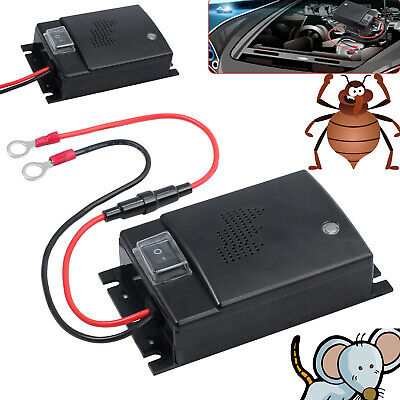 Car Vehicle Ultrasonic Under Hood Mouse Pest Repellent Mice Rat Rodent  Repeller