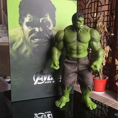 40cm Incredible Hulk Action Figur Comic Marvel Avengers Hot Reel Toys Sammlung
