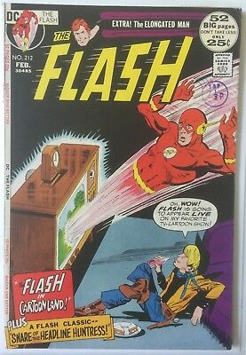The Flash 212 FN+. Elongated Man. DC