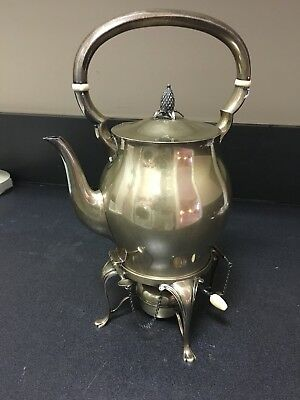 Tuttle Sterling Kettle On Stand Museum Condition