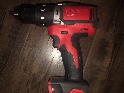 """Milwaukee 2702-20 M18 1/2"""" Compact Brushless Hammer Drill/Driver"""