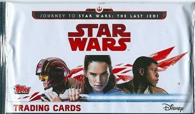 Star Wars Journey To The Last Jedi 1 Single  Booster Packet  -Topps