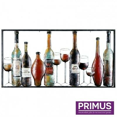 Primus Gallery 'An Excellent Year' 3D Wall Art Hand Painted Crafted Metal Gift