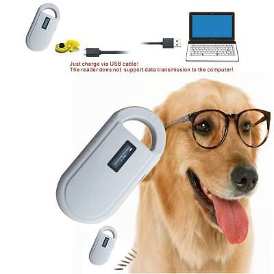 Animal ID Microchip Reader FDX-B ISO 11784/11785 RFID Handheld Ear Tag Scanner G