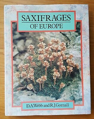 Saxifrages Of Europe. D.A. Webb. Gardening. Alpine Plants.