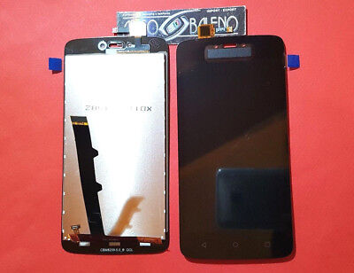 P1 Display +Touch Screen Motorola Moto C Xt1754 Xt1755 Nero Vetro Ricambio Lcd
