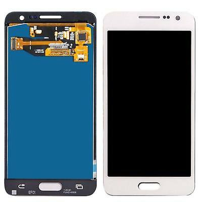 DISPLAY LCD+TOUCH SCREEN per SAMSUNG GALAXY A5 2015 SM-A500F A500DS BIANCO VETRO