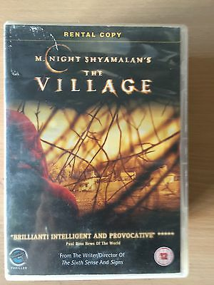 Joaquin Phoenix Bryce Dallas Howard The Village 2004 Shyamalan Horror UK DVD