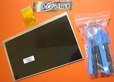 "Display Lcd Per Clementoni Clempad 7"" My First 4.4 2014 +Attrezzi 13693 13694"