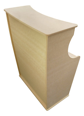 Space saver trade show/salon reception desk - shop exhibition counter stand mdf