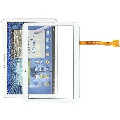 "VETRO+ TOUCH SCREEN per SAMSUNG GALAXY TAB 3 GT P5200 10,1"" DISPLAY BIANCO"