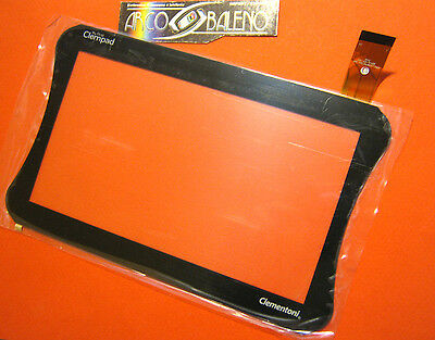 """Touch Screen +Vetro Clementoni Clempad 7"""" Myfirst 4.4 2014 Display 13693 13694"""