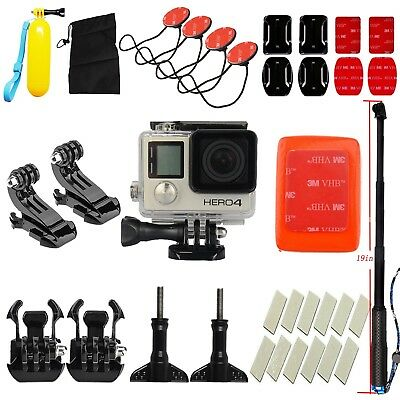 Sports Camera Surfing Diving Case Waterproof Accessories Kit for Gopro Hero 4 3+