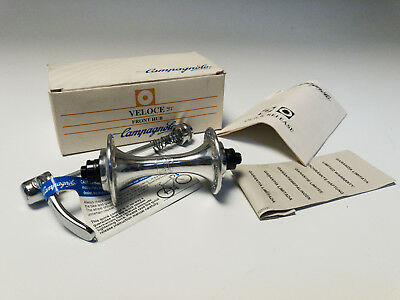 Campagnolo Veloce 36h mozzo anteriore 36h '95 front hub Vintage HB-00VL NOS NEW