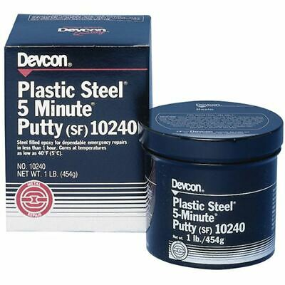 Devcon Plastic Steel 5 Minute Putty (SF) Container Size: 1 lbs.