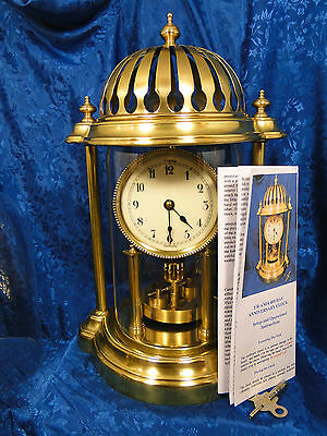 Urania/juf 103 Years Old 400 Day German  Anniversary Clock  Restored Nice Gift