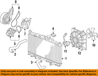 HONDA OEM 12-14 CR-V-Engine Water Pump 19200R5AA01