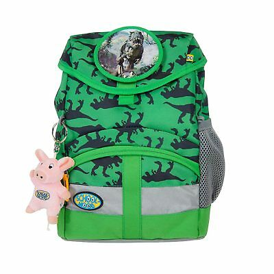 SCHOOL-MOOD Kindergartenrucksack Kiddy Dino praktisch Brustgurt 9 Liter