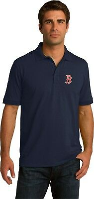 BOSTON RED SOX  Polo Golf Shirt up to 6x EMBROIDERED