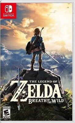 The Legend of Zelda - Breath of the Wild [Nintendo Switch] Used (Latest Release)