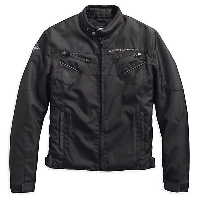97129-19Em Harley-Davidson Delresto Slim Fit  Textile Riding Jacket  ***new***