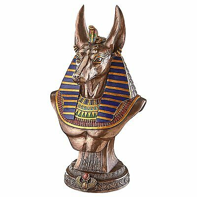 WU76649 - Anubis God Of Ancient Egypt Sculptural Bust