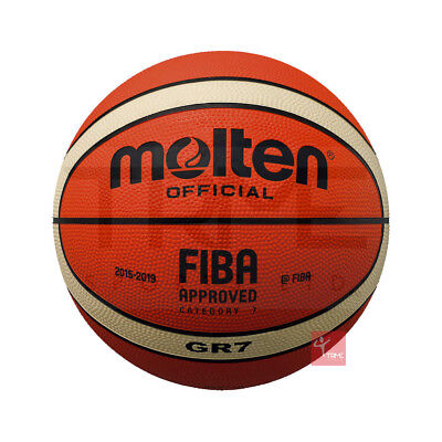 Molten BGR-OI Rubber Basketball (Available Size 3,5,6,7)
