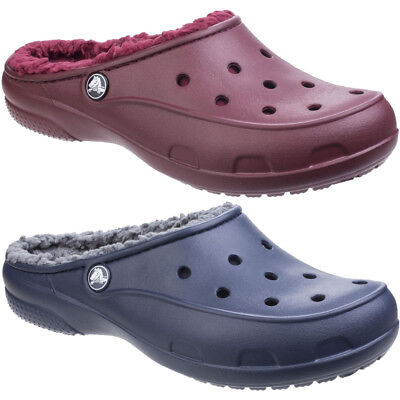 69bbd19d0 CROCS FREESAIL PLUSH lined Ladies Shoes   Clogs All Sizes In Various ...