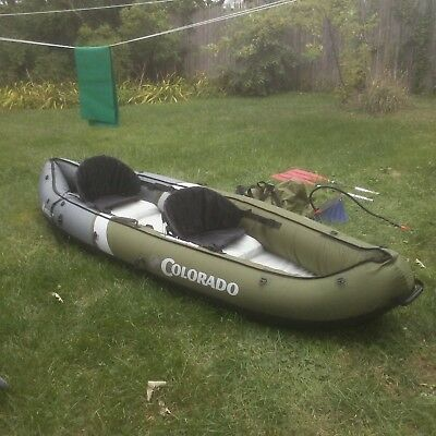 SEA EAGLE INFLATABLE Kayak Deluxe And Sports Kayak Pro Solo