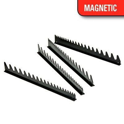 Ernst 6015M 40 Tool SPACE SAVER Wrench Rail Organizers - Black - Magnetic Tape