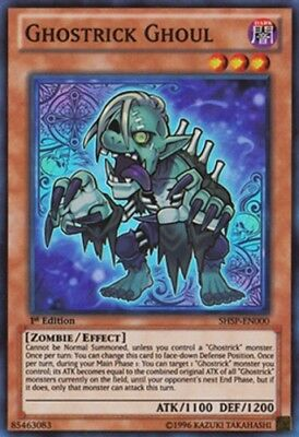 3Near Mint, English Ghostrick Ghoul - SHSP-ENSP1 - Ultra Rare - Limited Edition