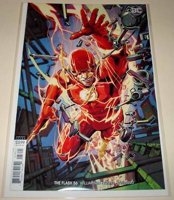 The FLASH # 56  DC Comic  (December 2018)   NM   VARIANT COVER EDITION