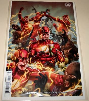 The FLASH # 57  DC Comic  (December 2018)   NM   VARIANT COVER EDITION