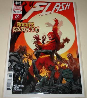 The FLASH # 57  DC Comic  (December 2018)   NM  1st Printing.