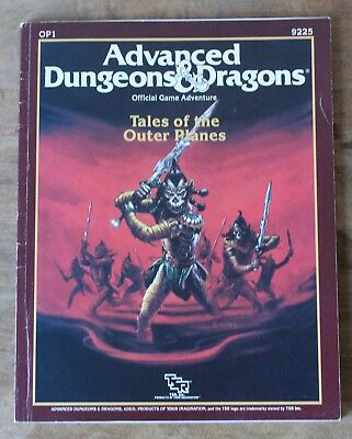 OP1 : TALES of the Outer Planes from AD&D, issue of Dragon