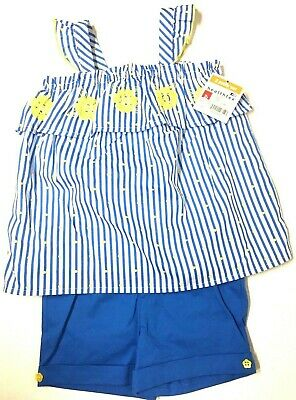 Girls Two Piece Short Set 2T NEW