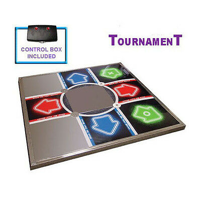 DDR V3 Tournament Metal Dance Pad Mat for PS / PS2 / Xbox 360