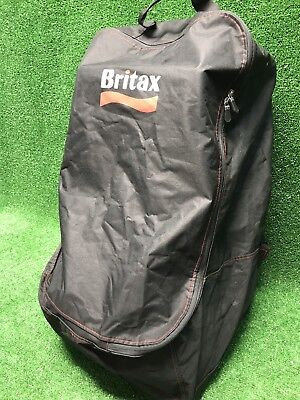 Britax Car Seat Travel Bag Padded Backpack Style Straps Built In Wheels Handle